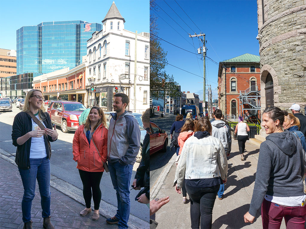 St. John's Beer Tours Walking to Fifth Ticket