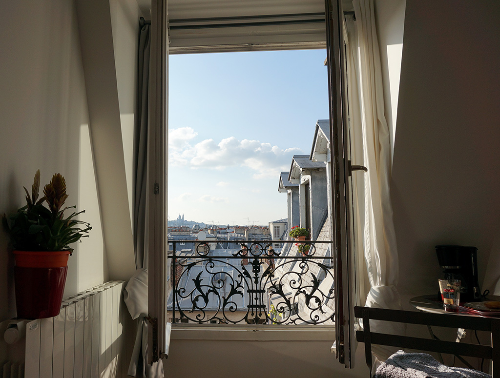 Airbnb Paris View France