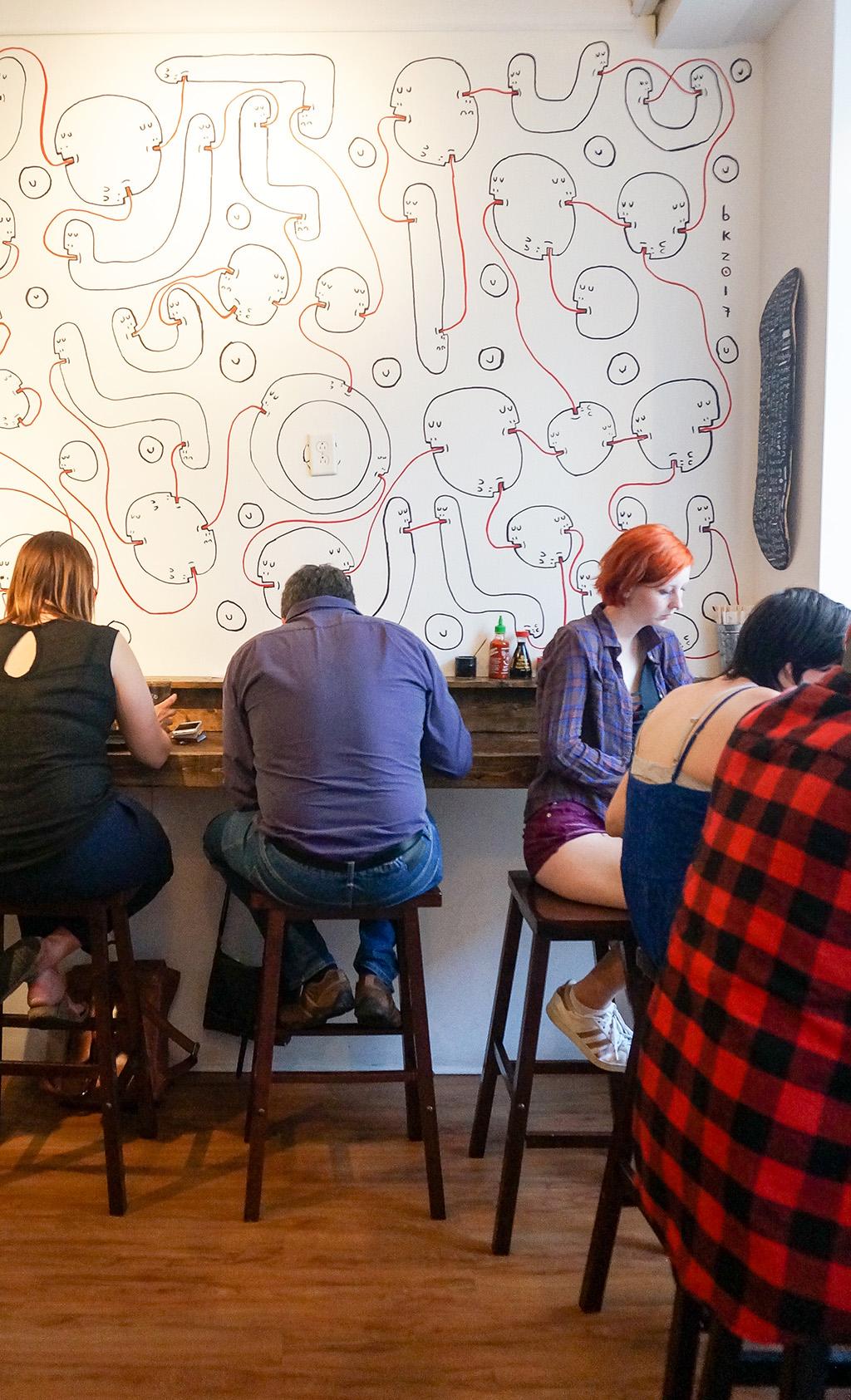 Eating at Bad Bones Ramen.The Food Girl in Town
