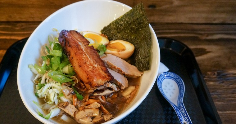 Slurping at Bad Bones Ramen | St. John's