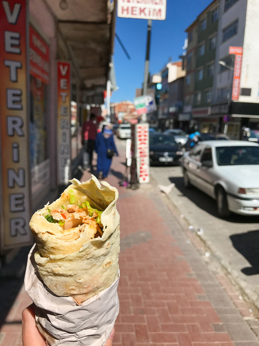 Turkish Doner Durum.The Food Girl in Town