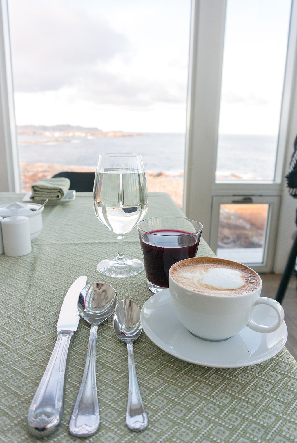 Fogo Island Breakfast Drinks.The Food Girl in Town