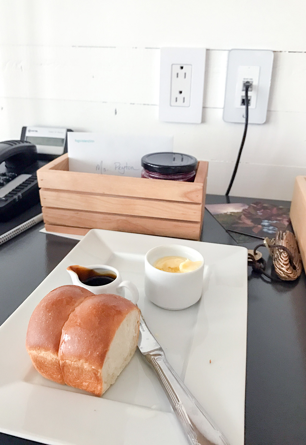 Fogo Island Welcome Bread.The Food Girl in Town