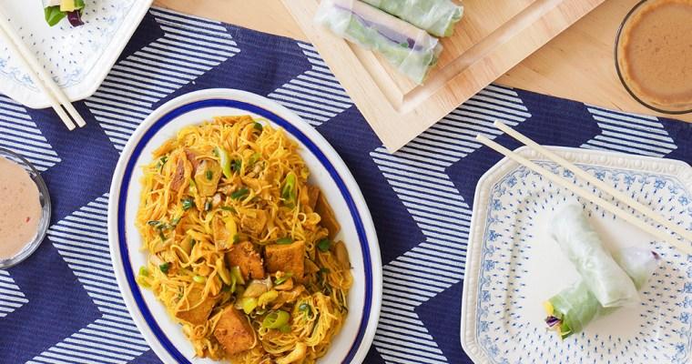 Vegetarian Vietnam Review + Cucumber Pineapple Rolls Recipe