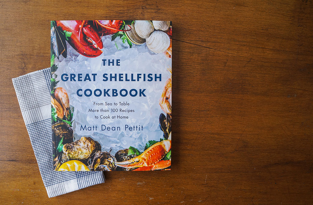Great Shellfish Cookbook Cover.The Food Girl in Town