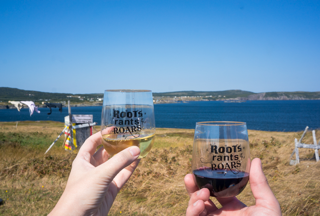 Roots Rants and Roars 2018 Wine Glasses
