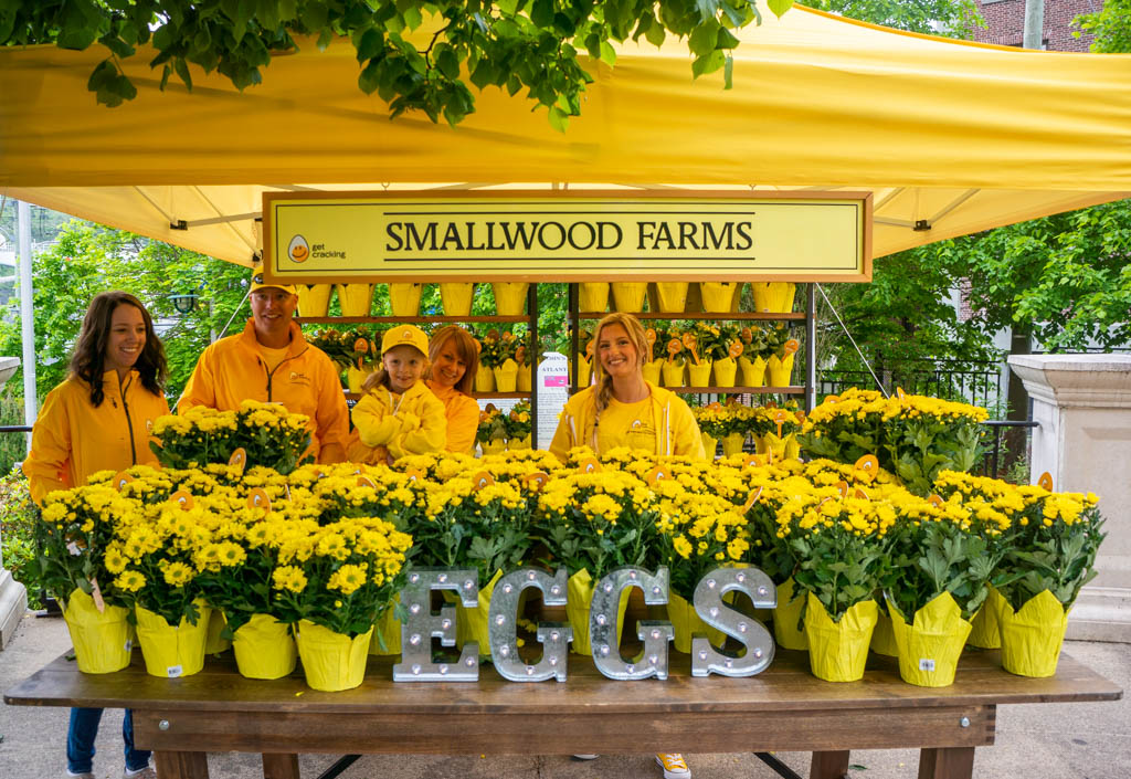 Wake up to yellow event Smallwood Farms