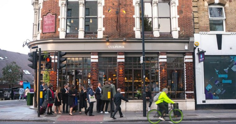 The Culpeper: The Best Pub Hotel in London