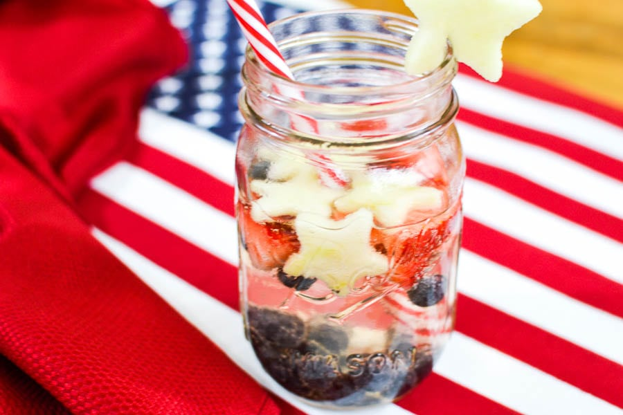 Image result for red white and blue sangria