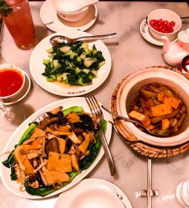 London Classics: A Vegetarian Dinner at China Tang London