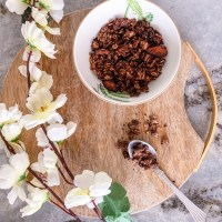 Recipe: Sea Salt & Dark Chocolate Nutty Granola