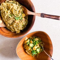 Recipe: Sesame Noodles With Wilted Greens