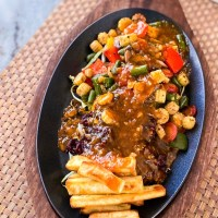 The Best Sizzler Recipe With A Hot & Sour Sauce