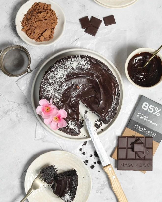 easy paleo chocolate cake recipe