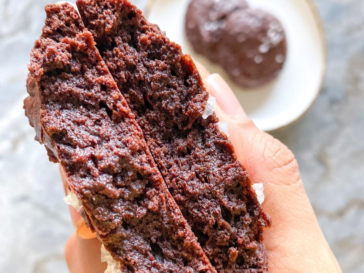 best eggless brownie-cookies