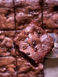 easy fudge cocoa brownies