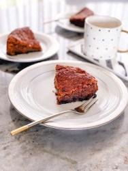 coffee & chocolate tea cake