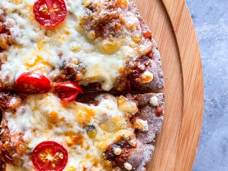 healthy ragi pizza