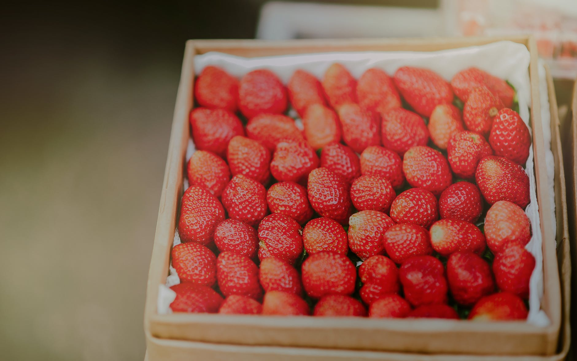 close up photography of stawberries