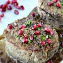 Filet Mignon with Pomegranate Dijon Sauce | @foodiephysician
