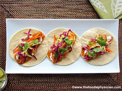 Dining with the Doc: Caribbean Fish Tacos