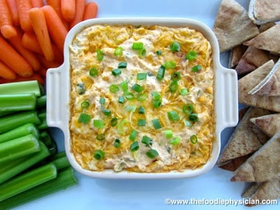 Recipe Resuscitation: Lightened Up Buffalo Chicken Dip