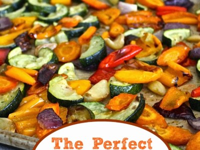 Dining with the Doc: The Perfect Oven-Roasted Vegetables