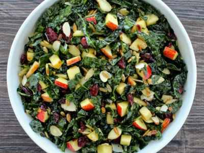 Dining with the Doc: Tuscan Kale and Apple Salad