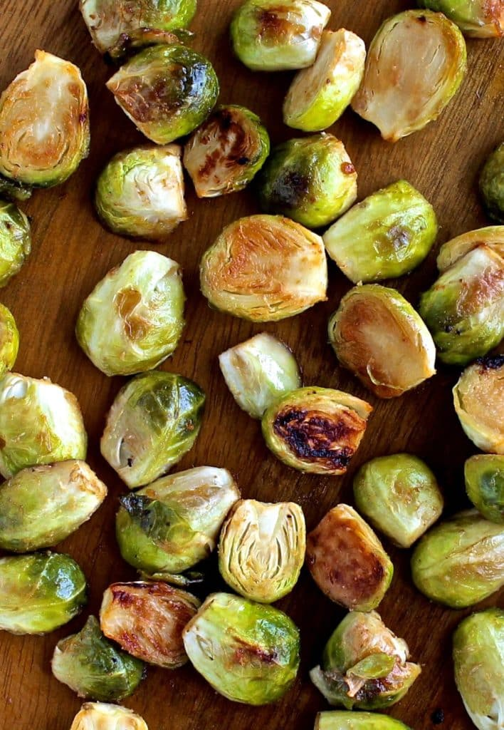 Dining with the Doc: Miso Roasted Brussels Sprouts | The