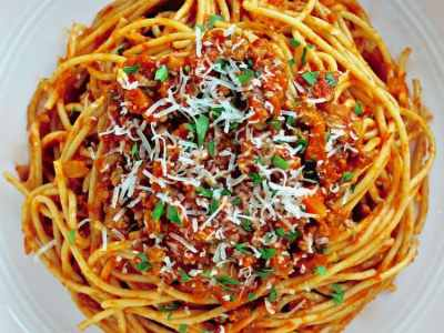 Dining with the Doc: Spaghetti Bolognese