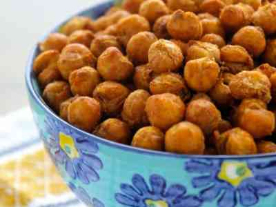 Dining with the Doc: Crispy Spiced Chickpeas