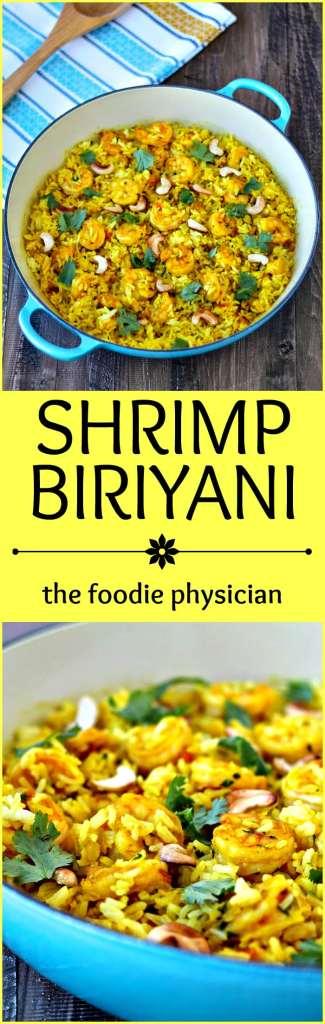 Shrimp Biriyani | @foodiephysician