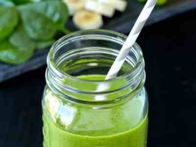 Dining with the Doc: Energizing Green Smoothie