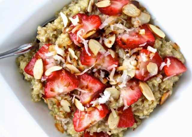 #quinoa #breakfast