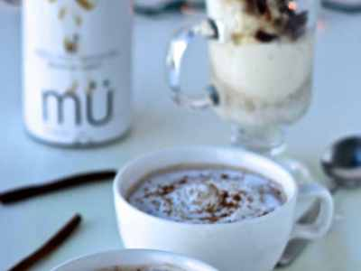 Dining with the Doc: mü Mexican Hot Chocolate and Creamy Coco Cappuccino Affogato