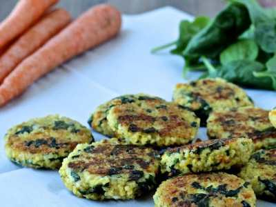 Dining with the Doc: Veggie-licious Millet Cakes