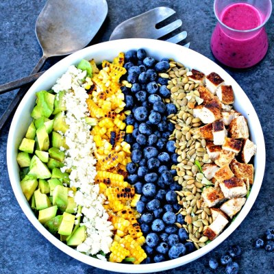 Southwest Blueberry Cobb Salad