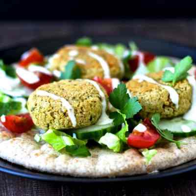 Baked Falafel | @foodiephysician