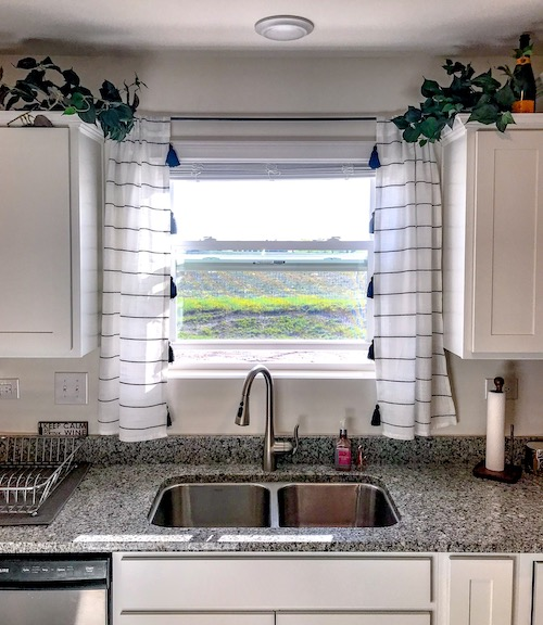 Chic Boho Kitchen Curtains The Foodie S Fit Home