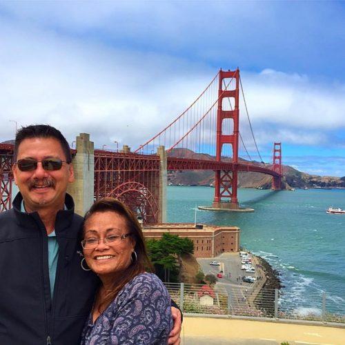 Fluffy Unicorn San Francisco Golden Gate