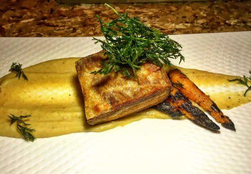 Saiko Sake & Sushi, Crispy Pork Belly