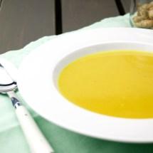 Carrot and Turmeric soup