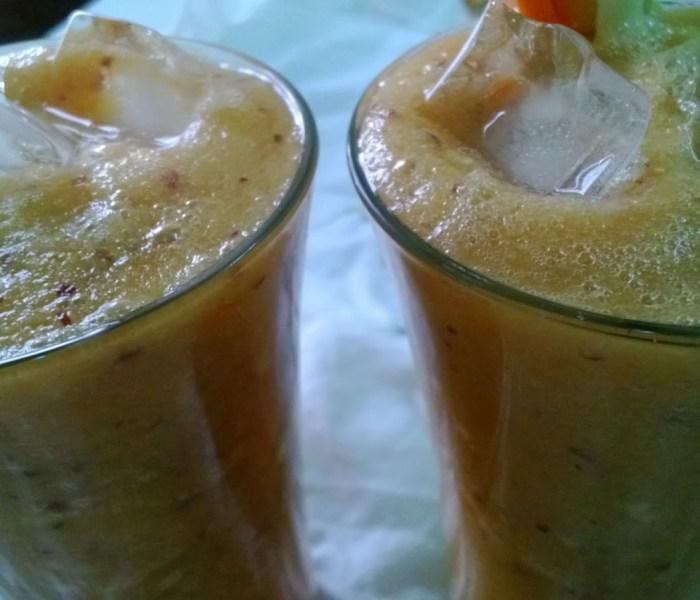 Apple,Carrot and Cucumber Juice