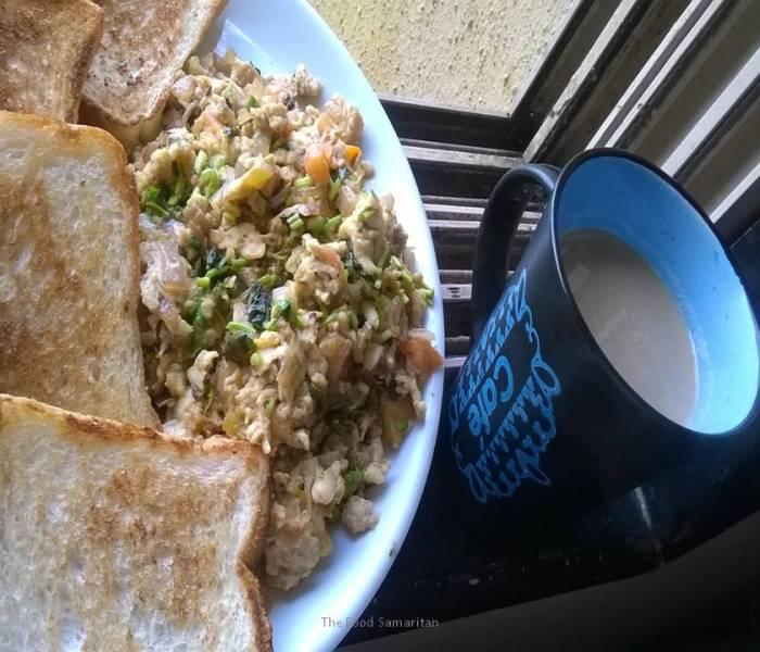 Akoori(Parsi style scrambled eggs)