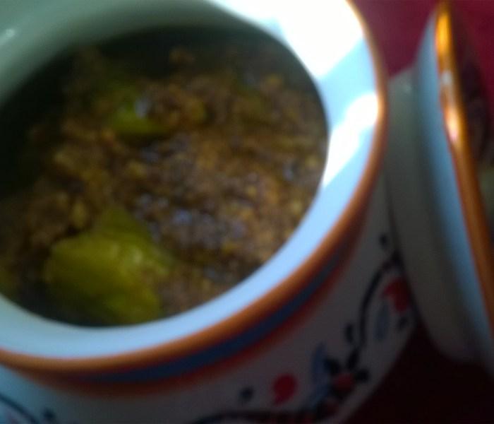 Green Chili Pickle – Version 2