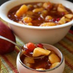Sweet Mixed Fruit Pachadi (a South Indian delicious mixed fruit accompaniment)