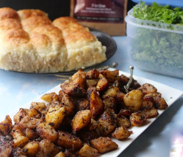 American Oven Roasted Potatoes