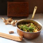 Dhingri Dulma (an Awadhi recipe from the Nawab's Kitchen)