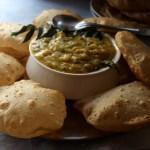 Potato Sagu (a delicious Udupi accompaniment for Poori)