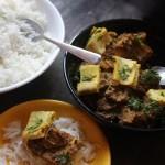 Papda Ki Subzi (A Bihari Chickpea Flour Subzi)